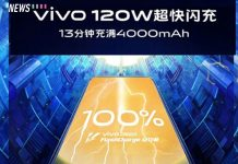 vivo 120w super flashcharge