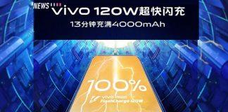 vivo 120w super flashcharge