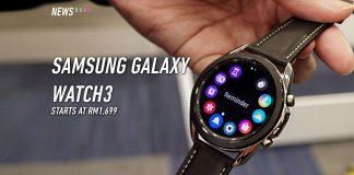 Galaxy Watch3, Samsung