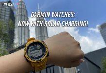 Garmin, Garmin Instinct, Garmin fenix 6S, Garmin fenix 6, solar charging