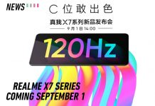 Realme x7 announced