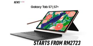 Samsung galaxy tab s7 series launched