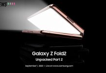 samsung galaxy z fold2 launch