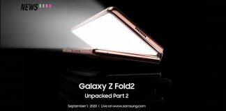 samsung galaxy z fold2 launch