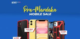 Shopee, Pre-Merdeka Sale, Shopee Pre-Merdeka Sale