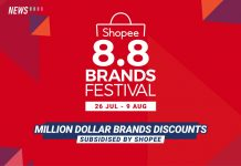 Shopee 8.8 Brands Festival, Shopee