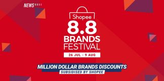 Shopee 8.8 Brands Festival, Shopee