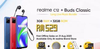 realme c12 lazada