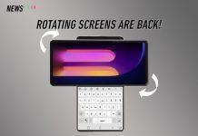 LG Wing, LG, dual-screen phone
