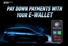 Proton, Grab, Touch 'n Go eWallet, FavePay, Boost