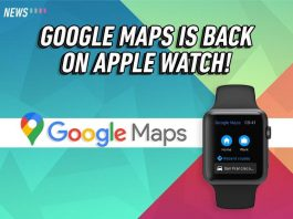 Google Maps, Apple Watch