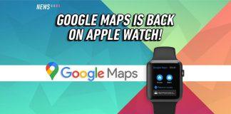Google Maps, Apple Watch