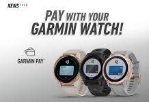 Garmin Pay, Garmin Watch