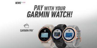 Garmin Pay, Garmin Watch