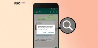 WhatsApp, Search the Web
