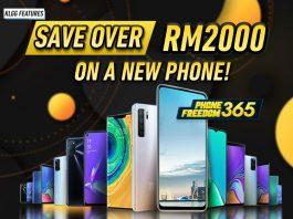 Digi PhoneFreedom 365 feature