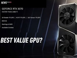 RTX 3070 october 15