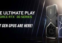 NVIDIA RTX 30 series launch