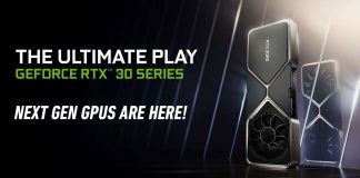 NVIDIA RTX 30 series launch
