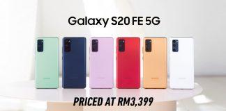 Samsung Galaxy S20 Fe launch