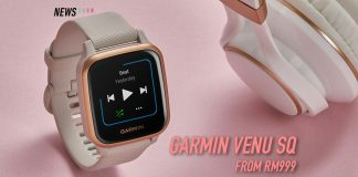 Garmin Venu Sq, Venu Sq, Venu Sq Music Edition