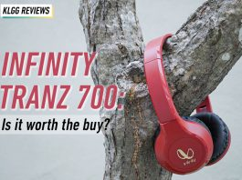 Infinity Tranz 700, on-ear headphones
