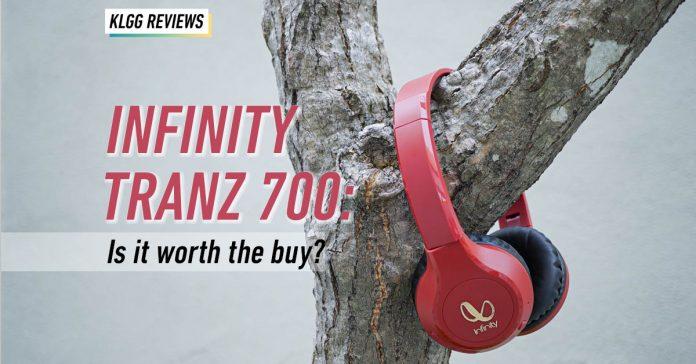 Infinity Tranz 700, on-ear headphones