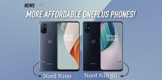 N10 5G, Nord N10 5G, N100, Nord N100, OnePlus, Nord
