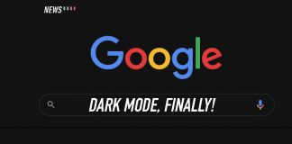 Chrome OS, dark mode