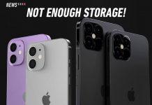 iphone 12 storage