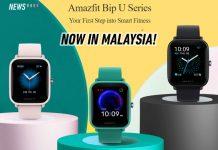 Amazfit Bip U malaysia