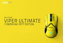 Razer Viper Ultimate, Cyberpunk 2077