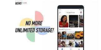Google Photos, unlimited storage