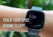 Fitbit Sense, Fitbit OS 5.1, SpO2