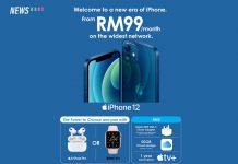 iphone 12 celcom RM99