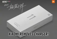 Xiaomi Mi 11 box no charger