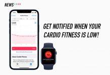 watchOS 7.2, apple, cardio fitness