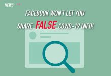 Facebook, COVID-19, misinformation, notification