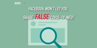 Facebook, COVID-19, misinformation, notification