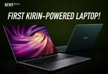 HUAWEI, kirin 990, Kirin laptop, laptop