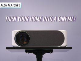 LUMOS, LUMOS Auro, LUMOS Auro Smart projector, LUMOS Auro projector, smart projector, projector