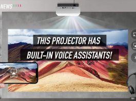 4k projector, 4k laser projector, lg 4k projector, hu810p