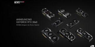 NVIDIA GeForce RTX 3060 CES 2021