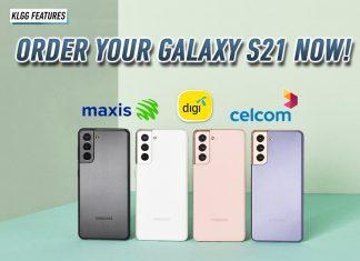 Galaxy S21 telco deals
