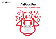 limited edition AirPods Pro, AirPods Pro, year of the ox
