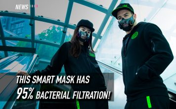 Project Hazel, Razer, smart mask, mart n95 mask, n95 mask, Razer mask