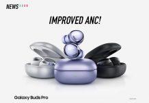 Galaxy Buds Pro, Samsung, improved anc