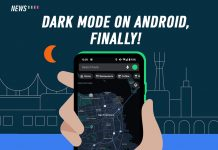 Google Maps, Dark Mode, Android
