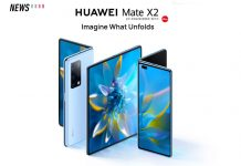 Huawei Mate X2 launched