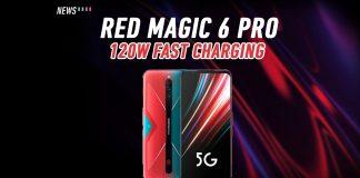 Red Magic 6 Pro, Red Magic 6, 120W fast charging